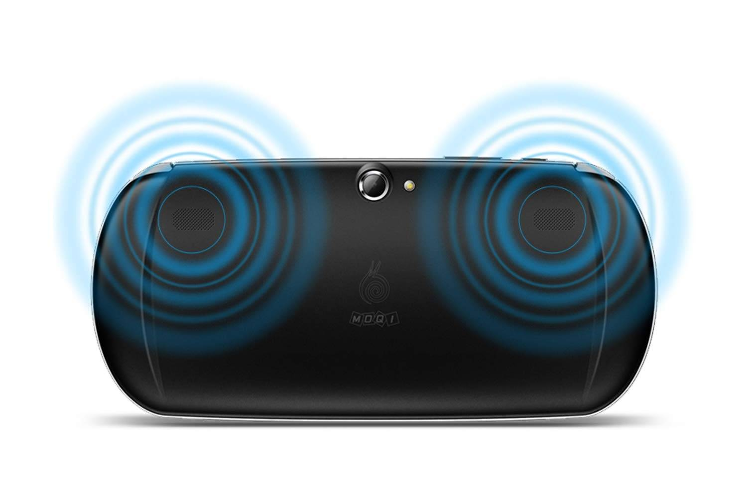 MOQi I7s Android Gaming Smartphone - Rear showing Speakers