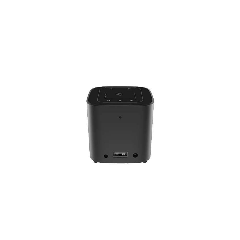 Hotack D10 Android Portable Pico Projector - Showing Back I/O