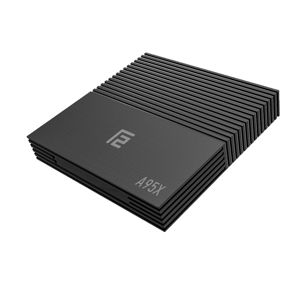 A95X F2 Android 9 Pie Smart TV BOX - Angle View