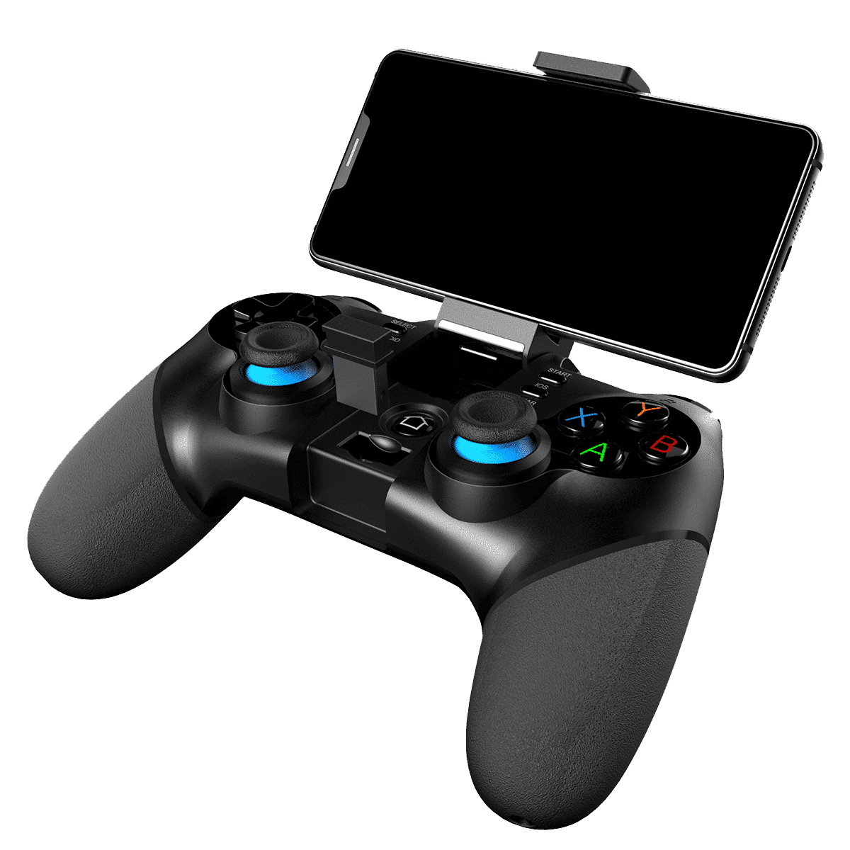 iPega PG-9156 Bluetooth and 2.4Ghz wireless Gamepad for Android, Windows and iOS - With Phone in Holder