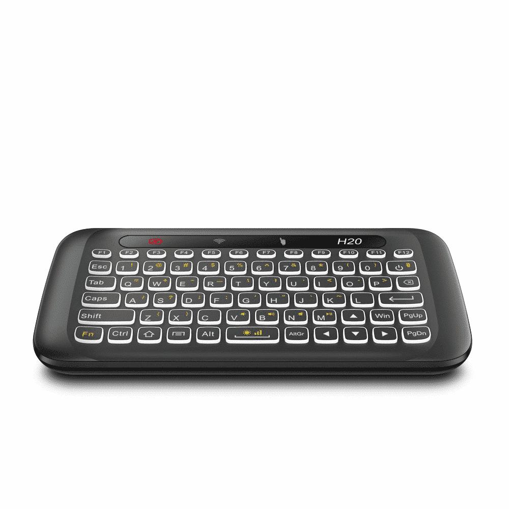 H20 Mini Keyboard QWERTY Keyboard Pictured