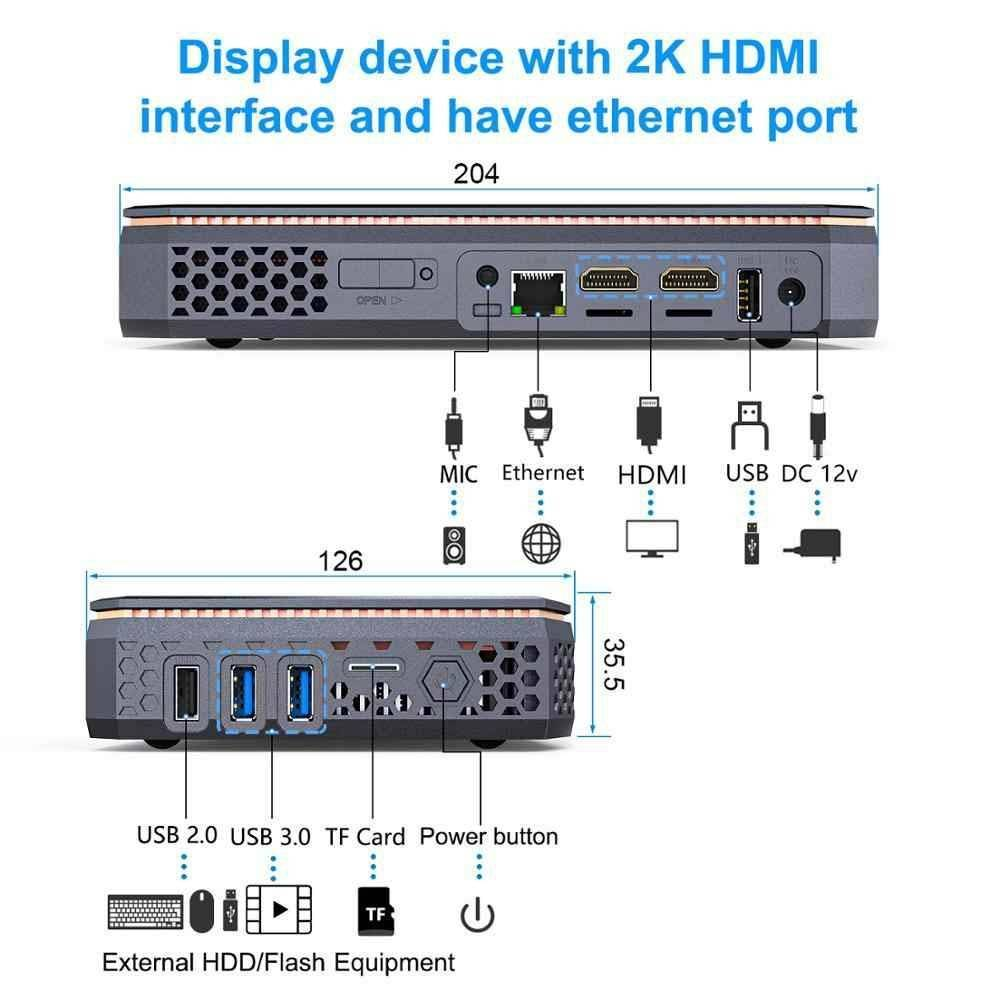 AMD T12 Windows 10 HTPC - Showing I/O Capabilities