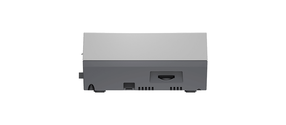 DroiX RetroPie Home Entertainment Gaming System N-LINE 128GB or 256GB - Side View