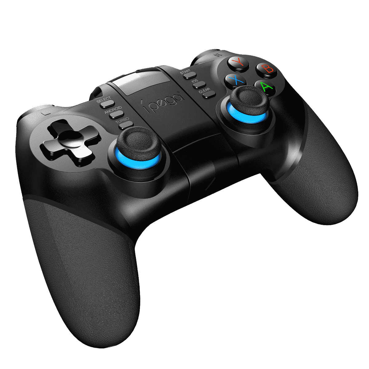iPega PG-9156 Bluetooth and 2.4Ghz wireless Gamepad for Android, Windows and iOS - Side View