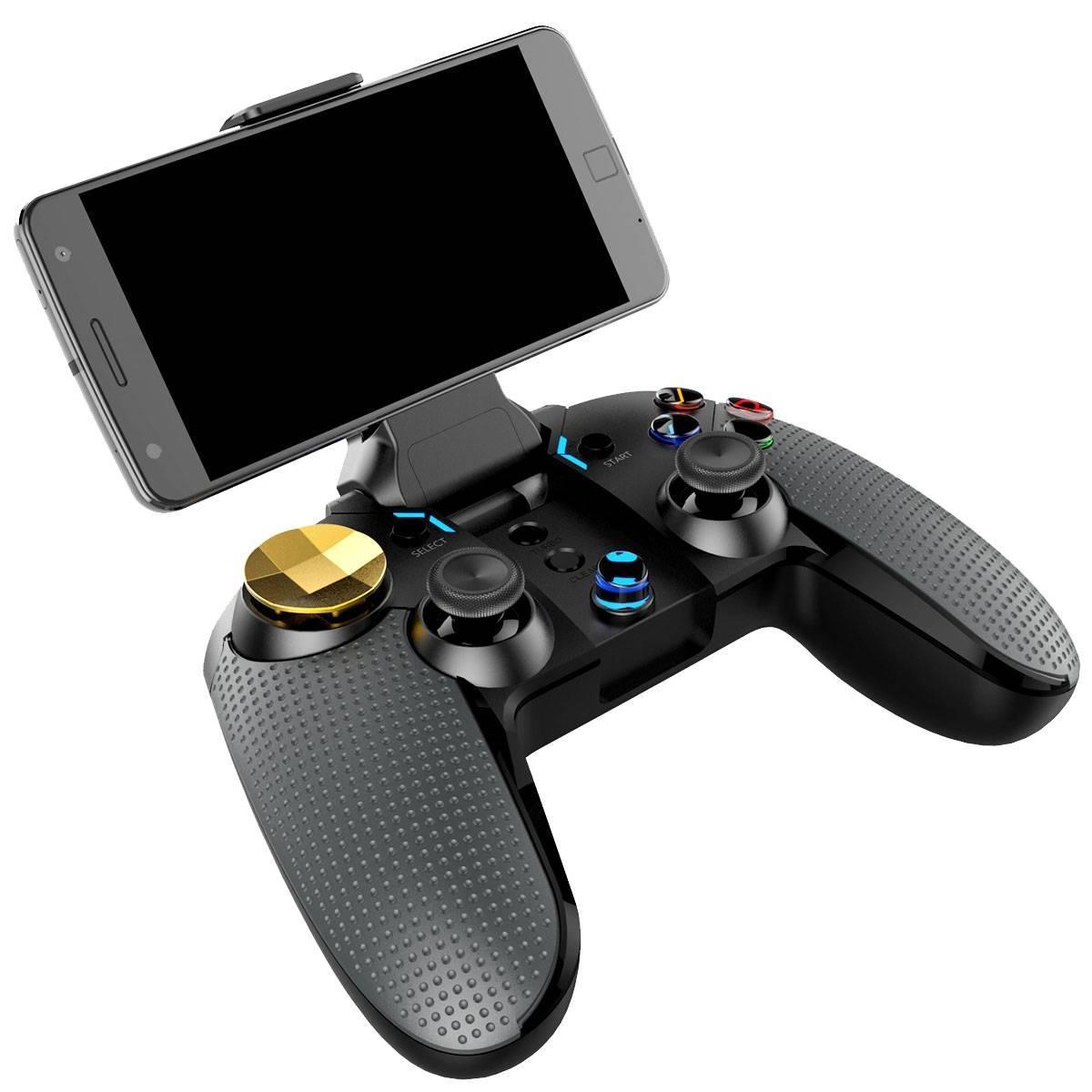 """iPega 9118 """"Golden Warrior"""" Gamepad - Smartphone in Holder"""