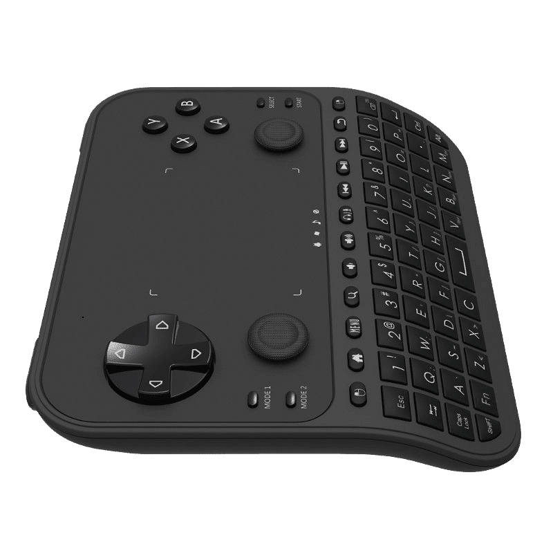 U6 Mini Keyboard with Gaming Functions Left Side View
