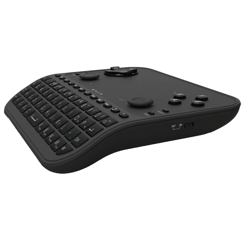 U6 Mini Keyboard with Gaming Functions Right Side View