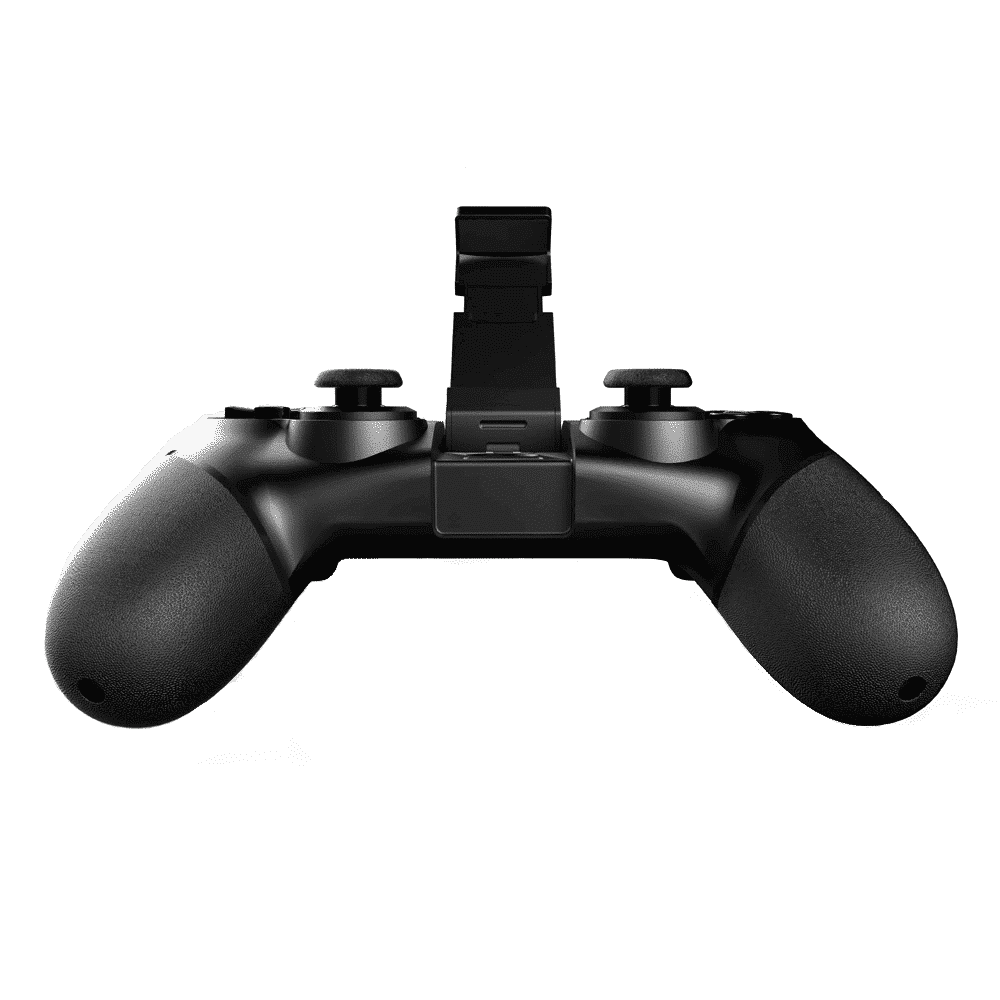 iPega 9076 Gamepad Front-View with the Smartphone Holder Open