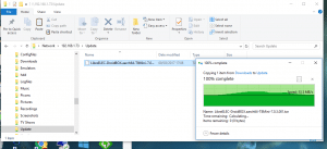 Copying File Across