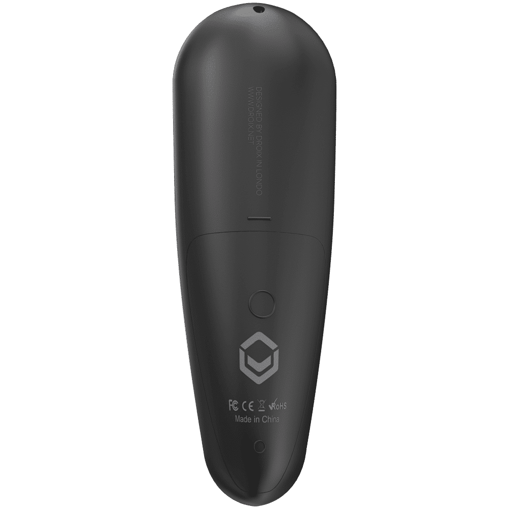 DroiX G30 Air-Mouse Remote with Gyroscope and Google Assistant - Rear View