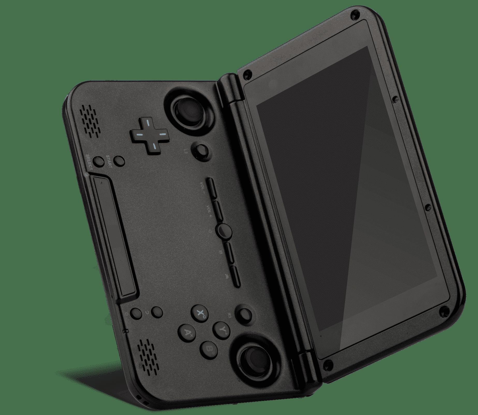 DroidBOX GPD XD PlayOn open angled view