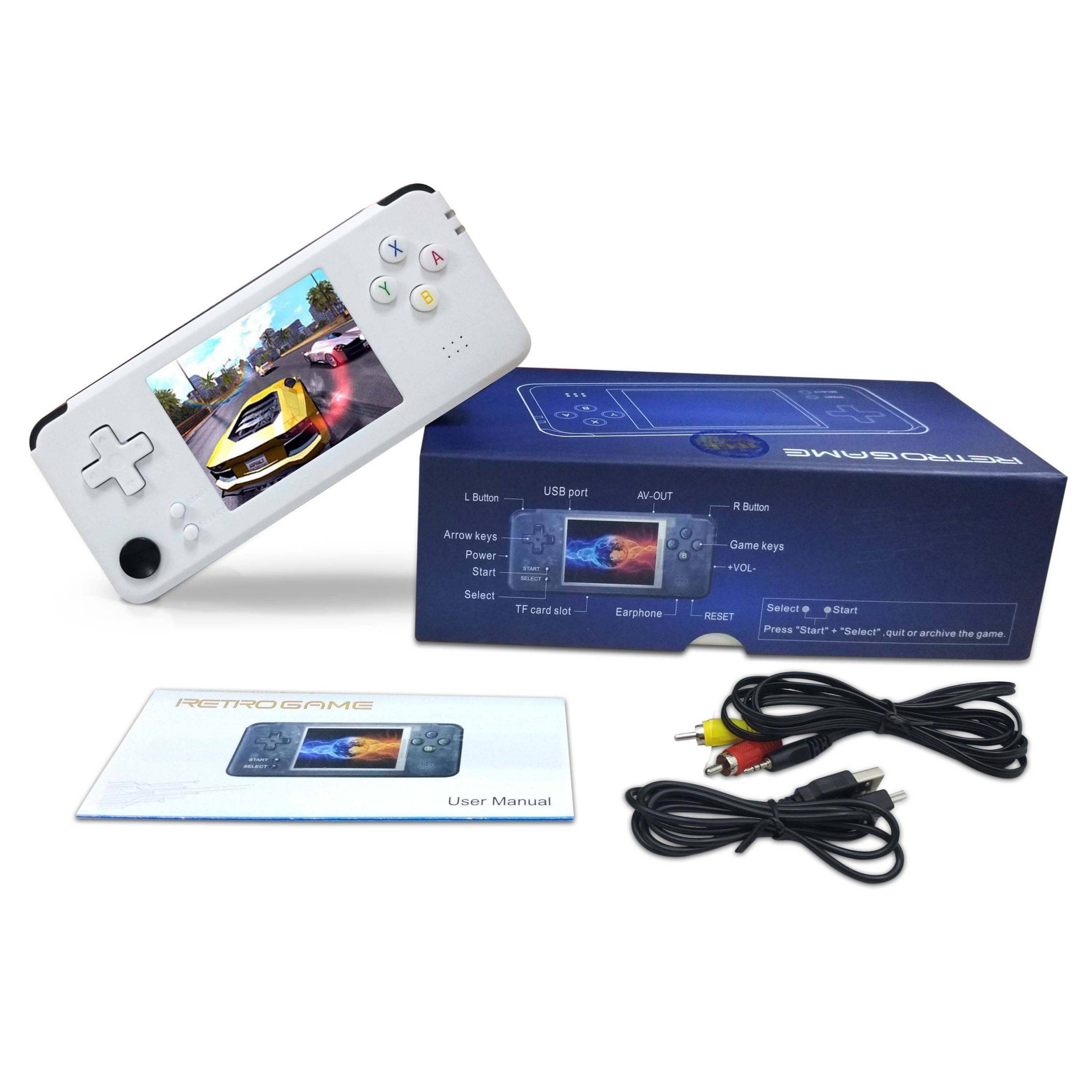 DroiX RS-97 Plus V2 Open Dingux Retro Gaming Console Handheld - Box Contents