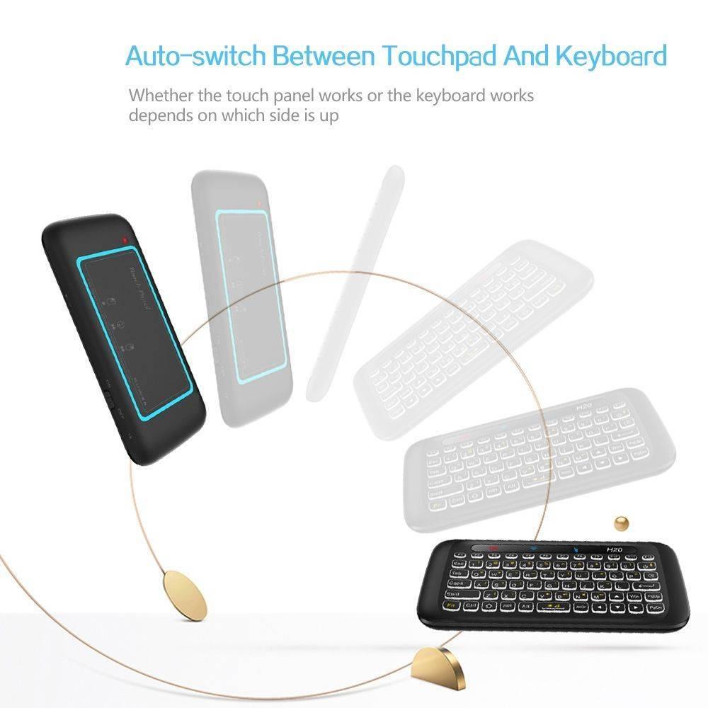 H20 Mini Keyboard Smart Gestures