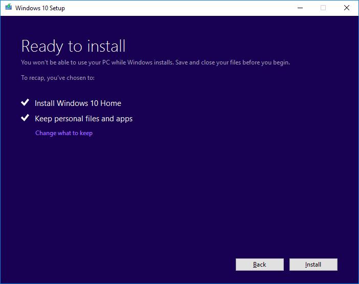 8 Wait Then Keep Windows 10 Anniversary Update