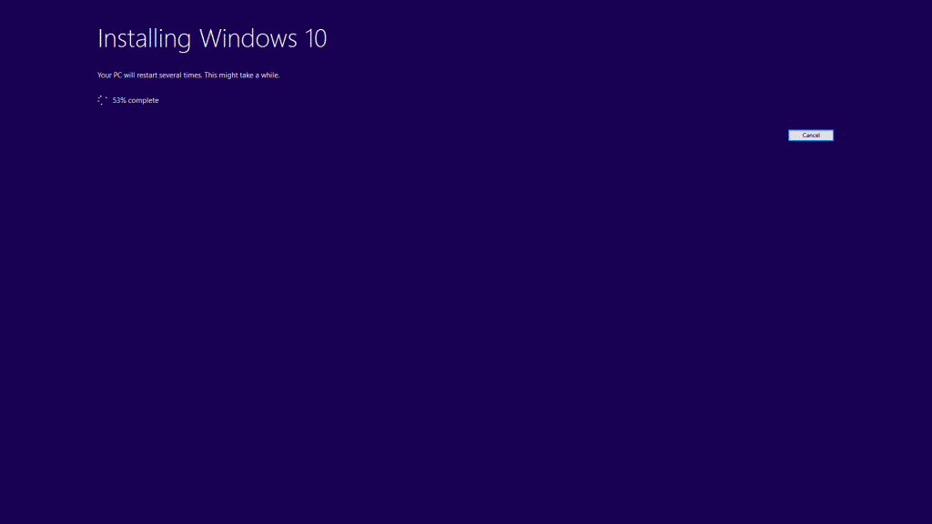 9 Processing Windows 10 Anniversary Update