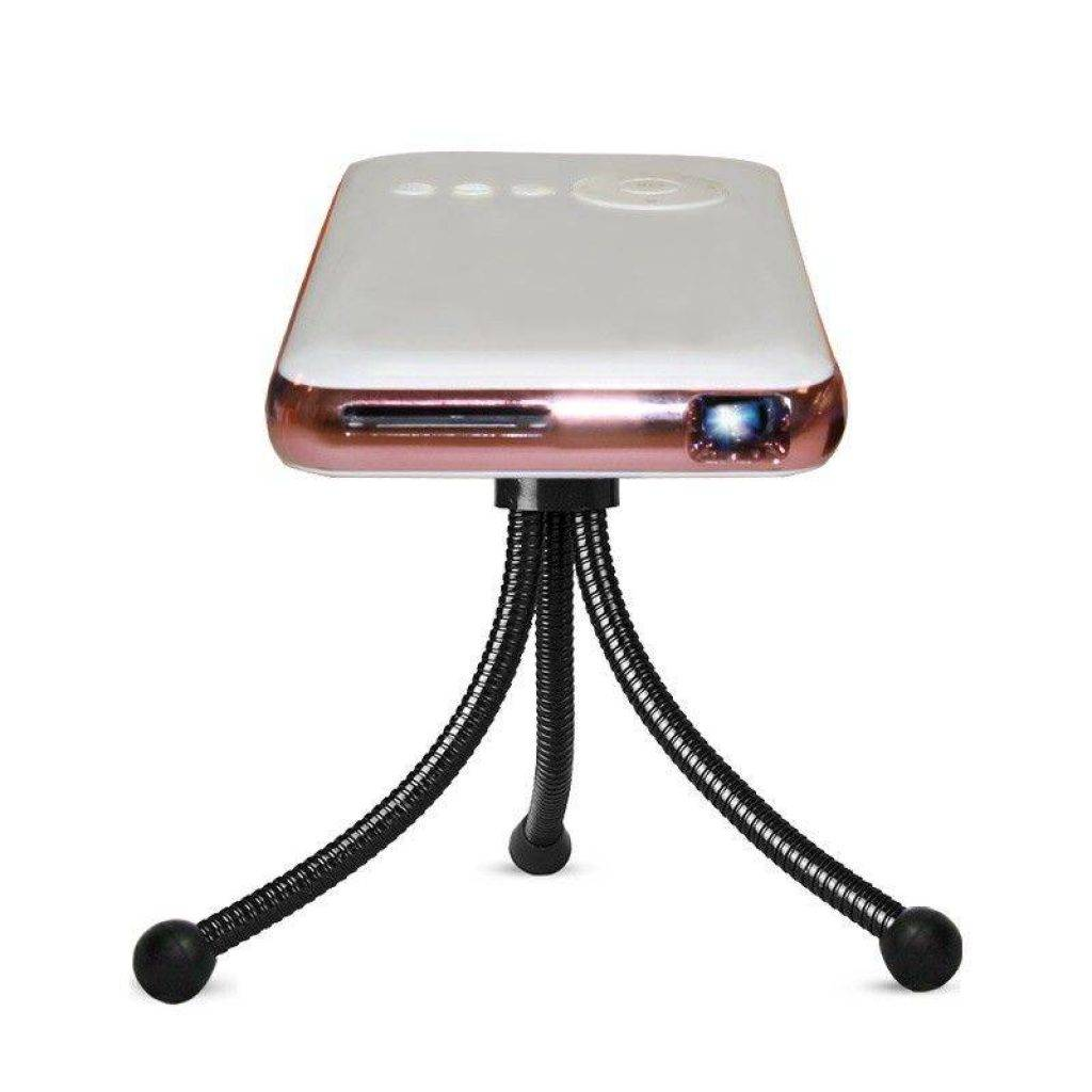 DroidBOX® Go Pink Rose Mini DLP Smart Handheld Android powered projector