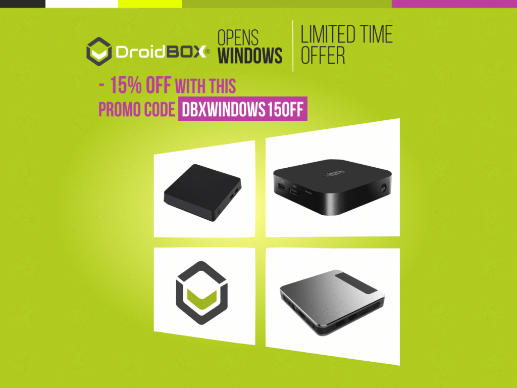 Open Windows - Let The World Of Entertainment Inside Your Home With DroidBOX®!