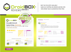 DroidBOX® Reviews