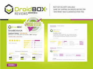 DroidBOX® Reviews