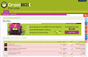 DroidBOX Forum Screenshot