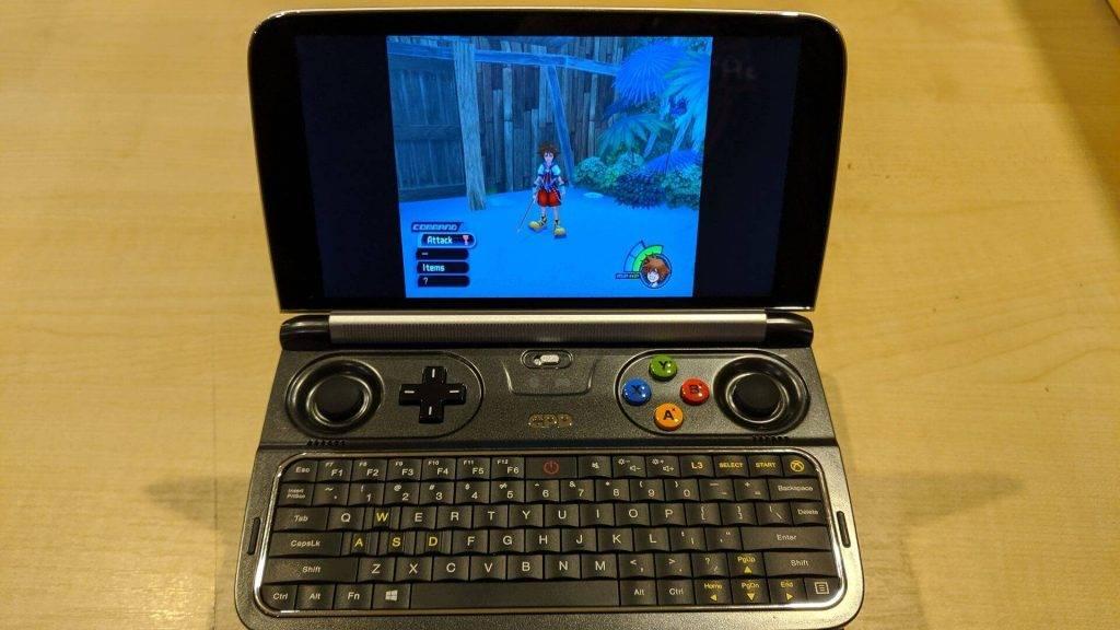 GPD Win 2 PS2 emulator