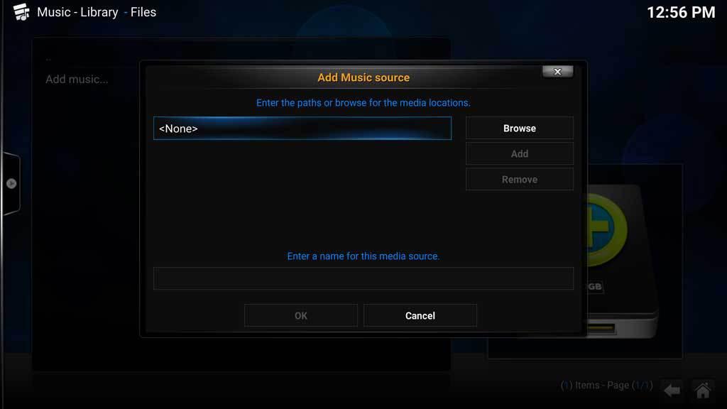 Kodi Music Add Music 2