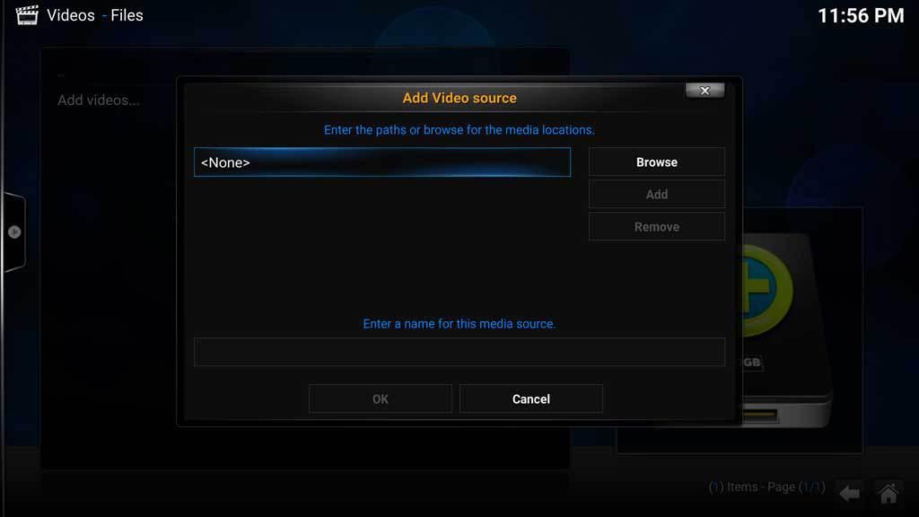 Kodi Video Add Videos 1