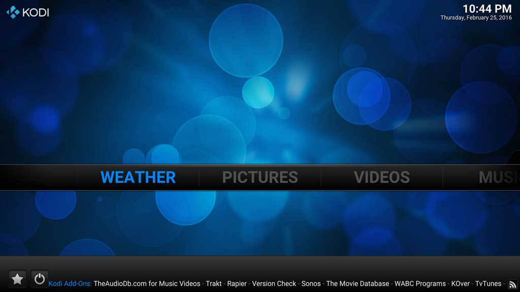 Kodi Weather 5