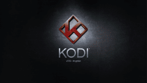 Kodi 17 Krypton Splash Screen