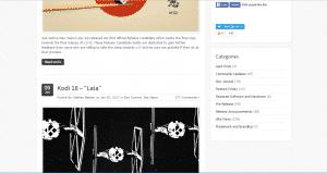 Kodi Site Screenshot