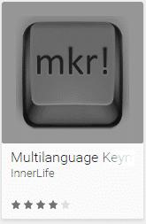 MKR Result in Google's Play Store Multilanguage Keymap Redefiner