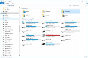 Windows Explorer My Computer This PC