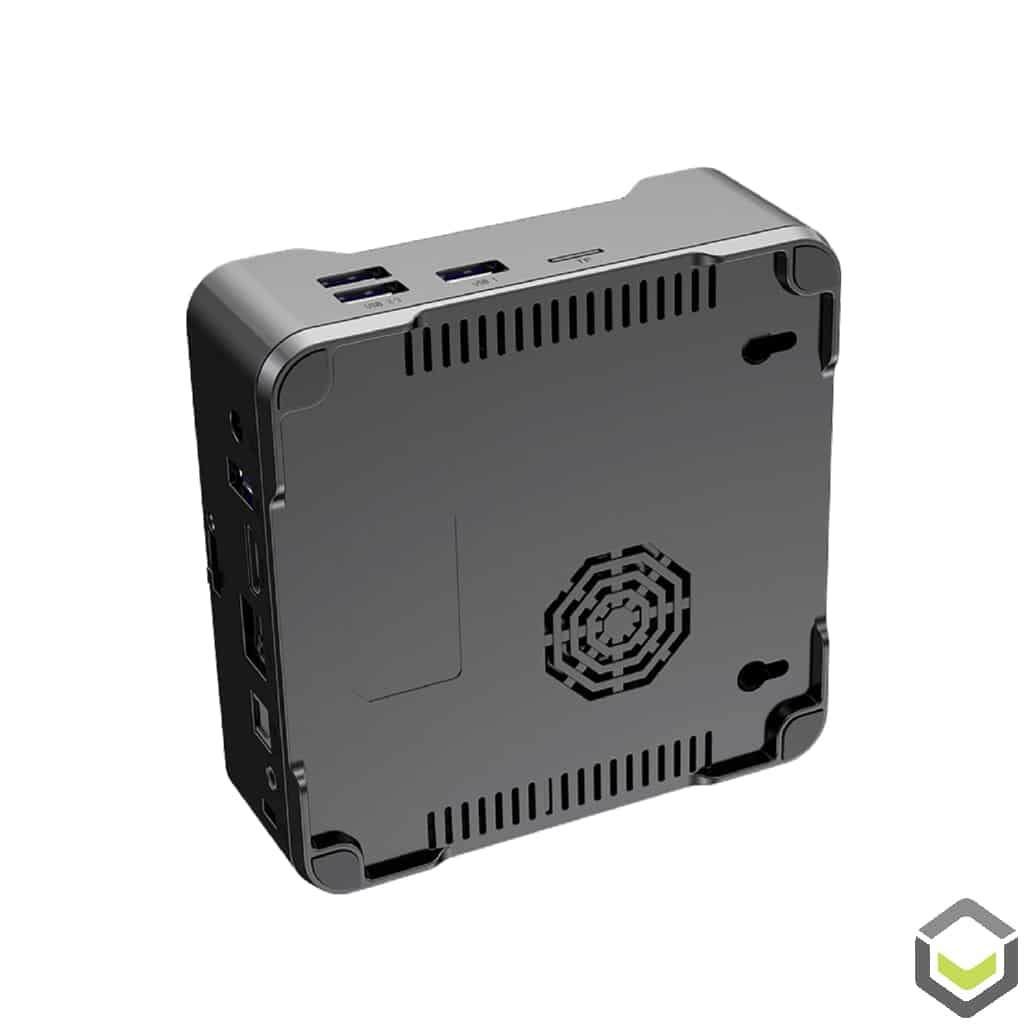 A95X Max 4K Android Powered TV BOX - Bottom View showing FAN