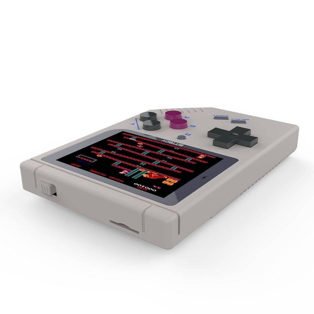 NEW Bittboy V3 Retro Gaming Handheld Emulator - Laying Flat