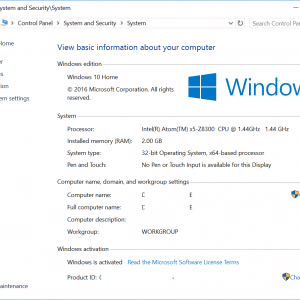 Windows 10 Anniversary Updated Completed Proof