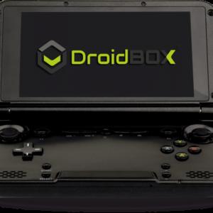 DroidBOX GPD XD PlayOn (Blue) open view