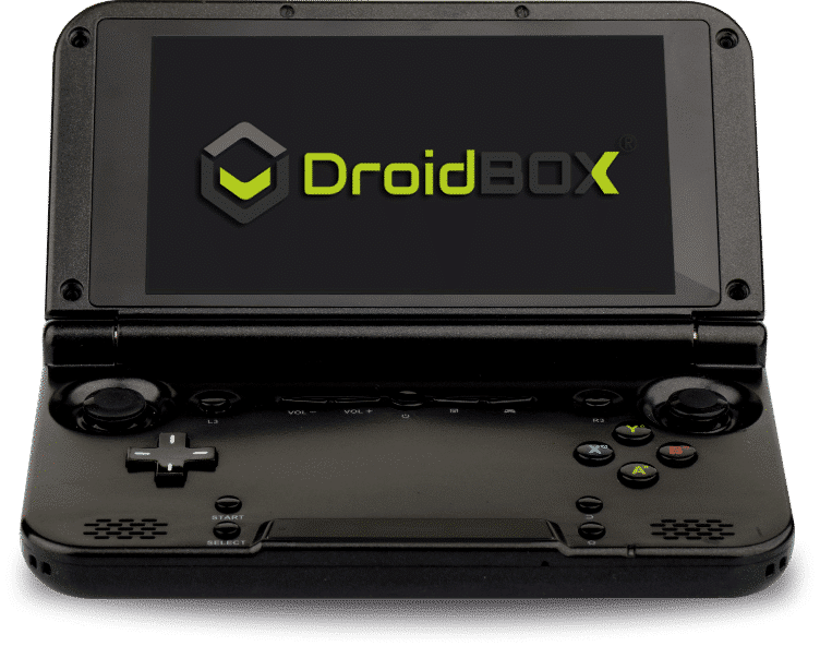 DroidBOX GPD XD PlayOn (Blue) open view