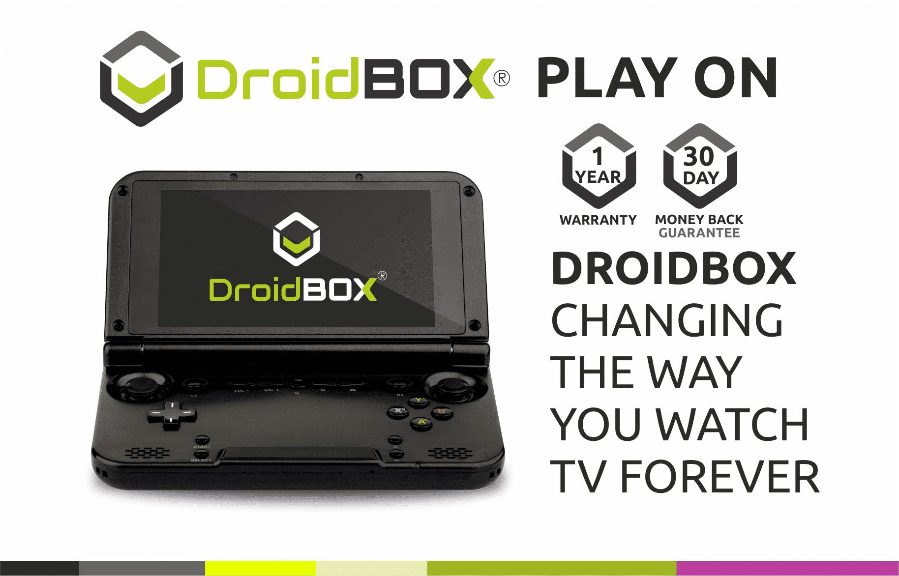 DroidBOX GPD XD PlayOn 1 Year Warranty