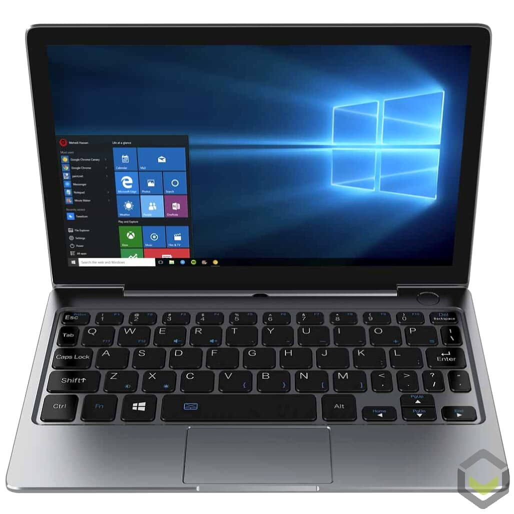 GPD P2 Max Celeron 3965Y 8GB RAM 256GB SSD Windows 10 2in1 Ultrabook Laptop - Front View