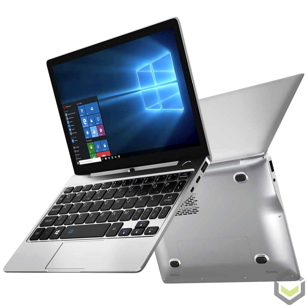 GPD P2 Max Celeron 3965Y 8GB RAM 256GB SSD Windows 10 2in1 Ultrabook Laptop - Back to Back