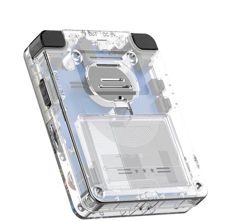 Bittboy LDK Retro Gaming Console Transparent - Showing Back