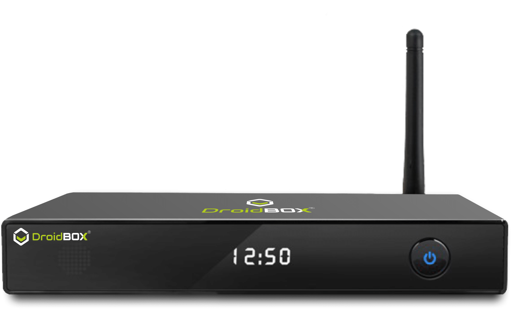 DroidBOX M5 Android Set Top Box front view