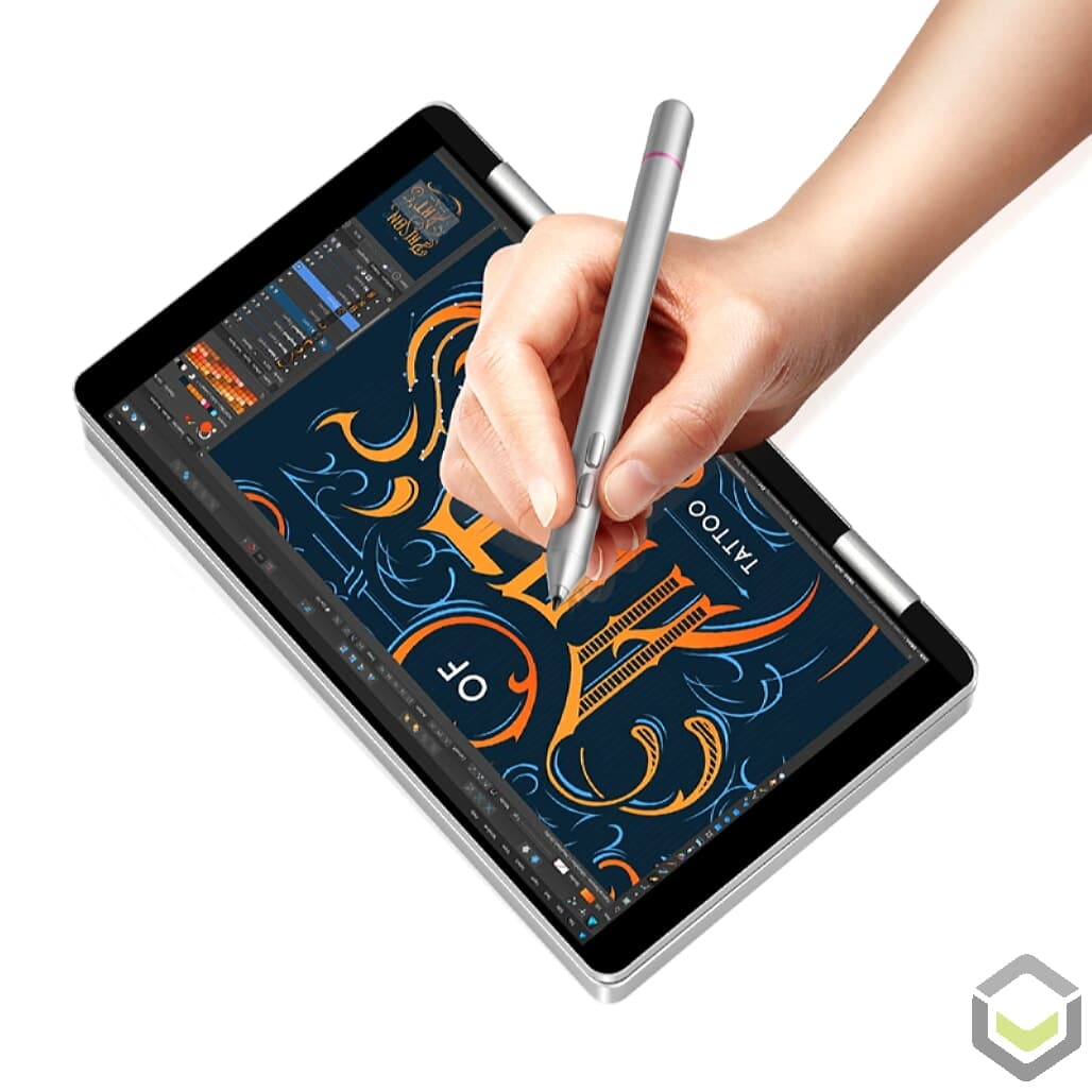 One Netbook Mix 1S - Design with the Stylus