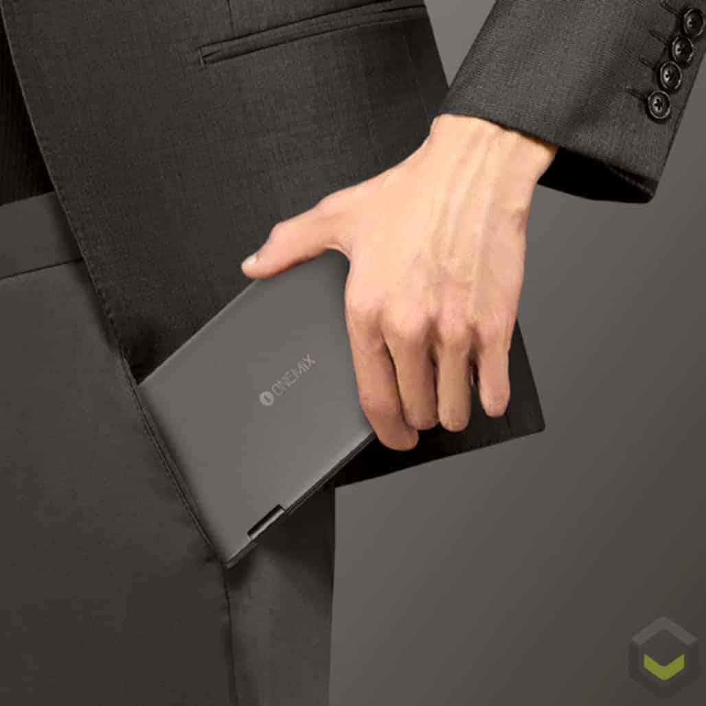 One Netbook Mix 2S Platinum Edition - Small enough to fit in your pocket