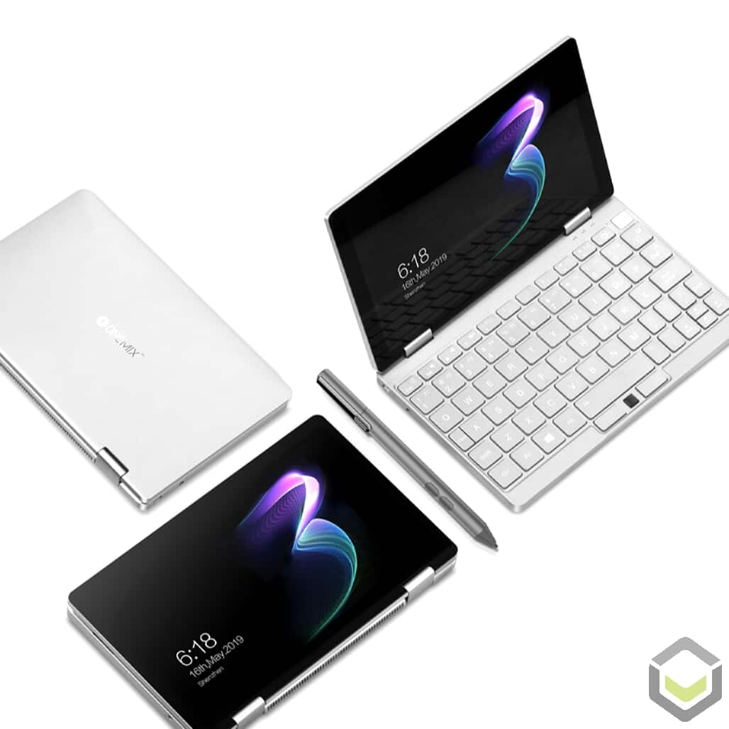 One Netbook Mix 3 - Multiple states (Laptop, Tablet)