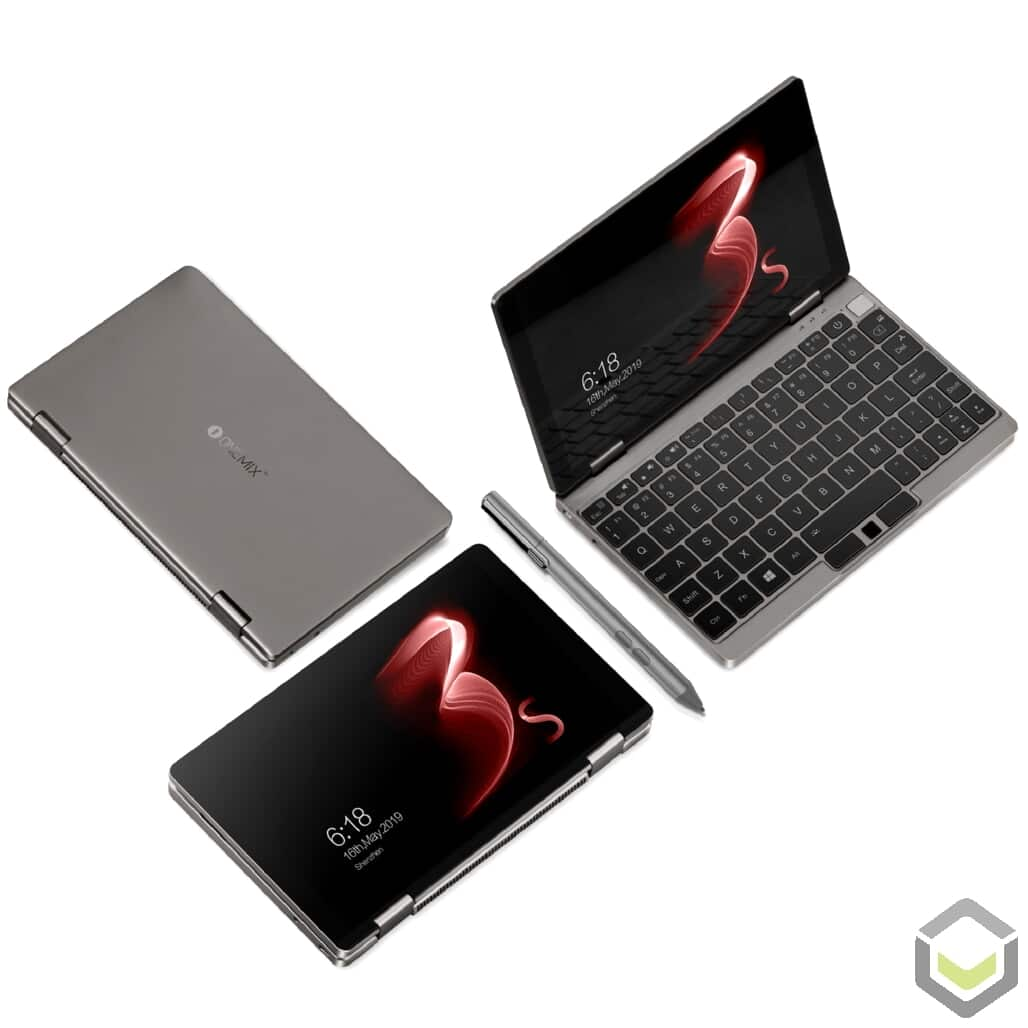 One Netbook Mix 3S Platinum Edition - Multiple modes view