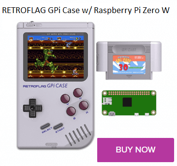 Buy Retroflag GPi case with Raspberry Pi Zero W