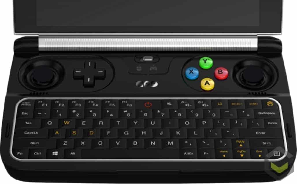 GPD WIN 2 - Gaming Keyboard Overlook