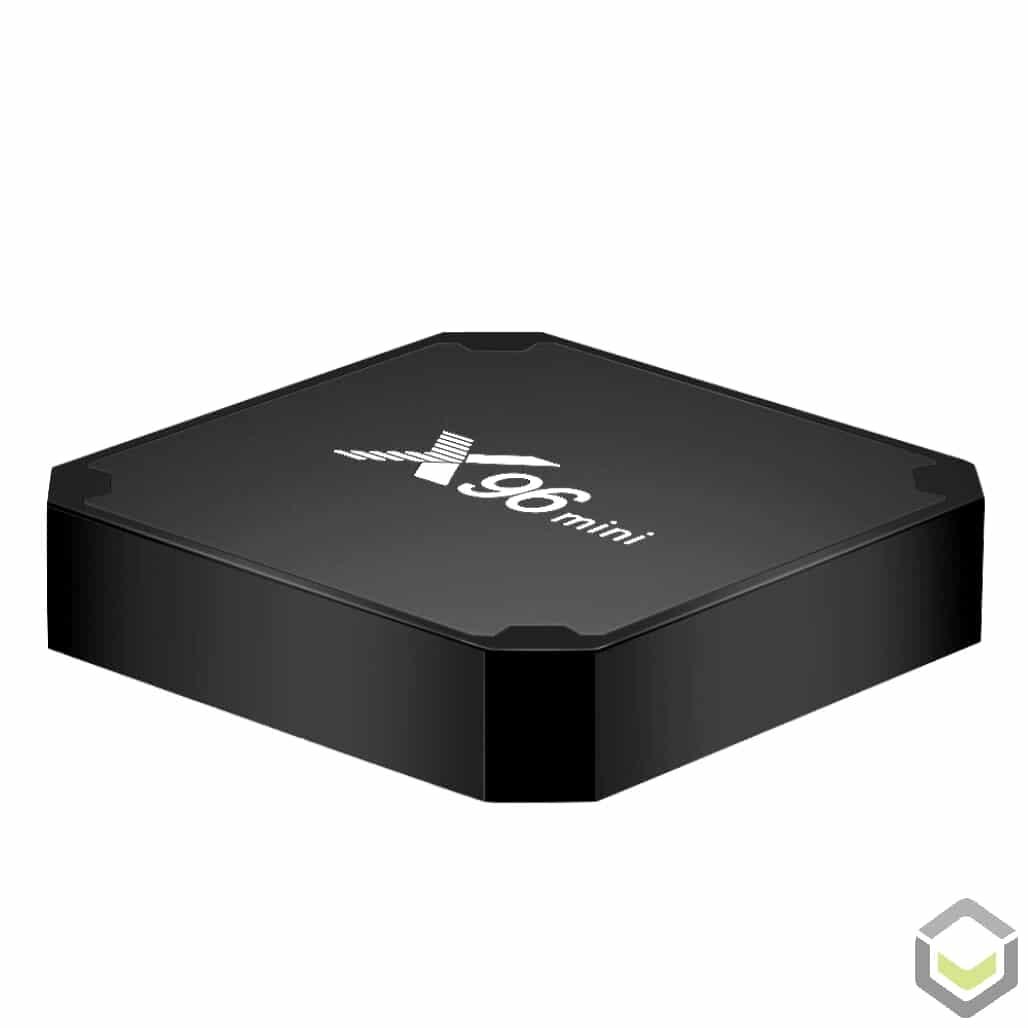 X96 Mini Android 7 Nougat Smart TV BOX - Angle
