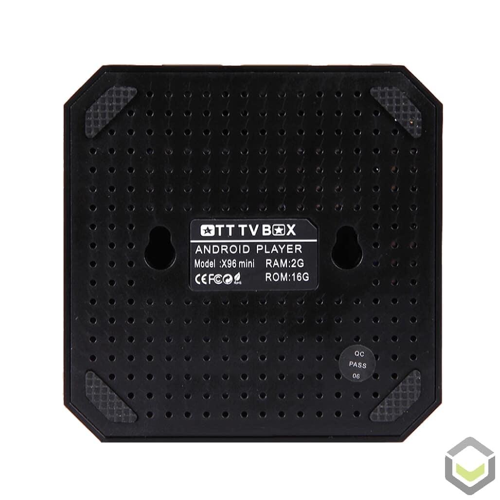 X96 Mini Android 7 Nougat Smart TV BOX - Bottom